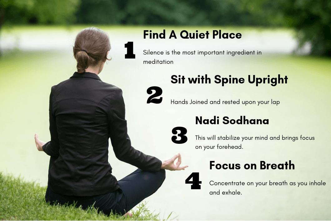 meditation in silence